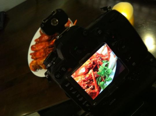 Food Photography BTS