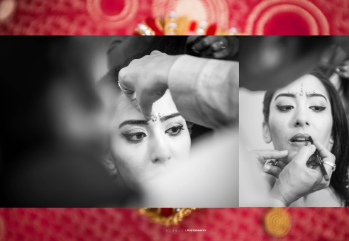 Make - up Session #Wedding