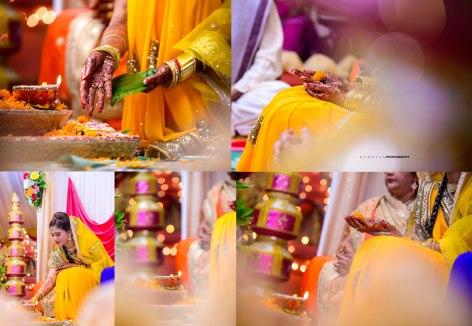 Haldi Hindu Ritual